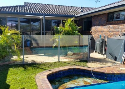 Semi - Frameless Finished Off In A Precious Silver Powercoat In Ballina