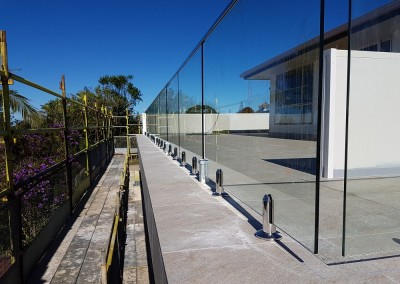 Glass Balustrade In Lennox Head