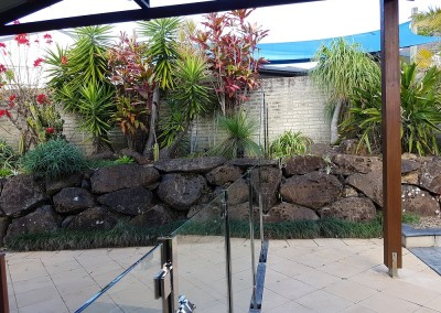 """Semi - Frameless With Stainless Steel Posts And """"D Clamps"""" In Lennox Head"""
