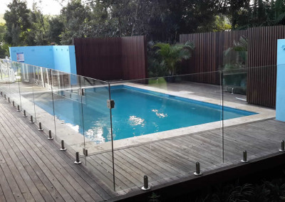 Fully Frameless Glass Pool Fencing In Bangalow
