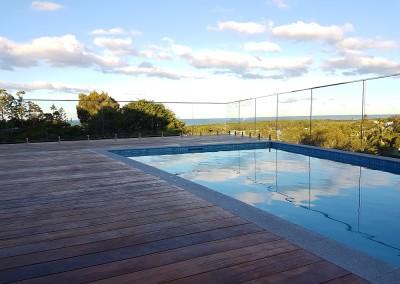 Frameless Glass Pool Fencing In Ocean Shores