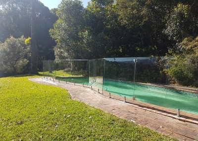 Frameless Glass Pool Fencing In Federal