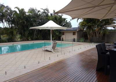 Frameless Glass Pool Fencing In Yamba