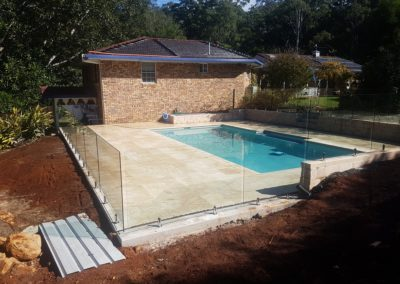 Frameless Glass Pool Fencing In Rous