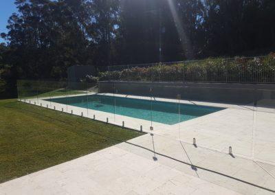 Fully Frameless Glass Pool Fencing In Fernleigh