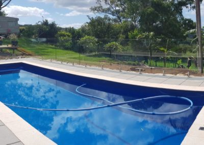 1200 High Fully Frameless Glass Pool Fencing In Bangalow