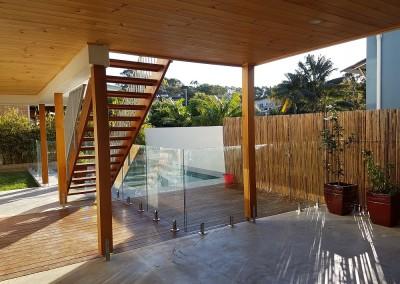 Fully Frameless Glass Pool Fencing In Lennox Head