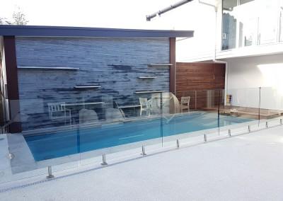 Frameless Glass Pool Fencing In Byron Bay