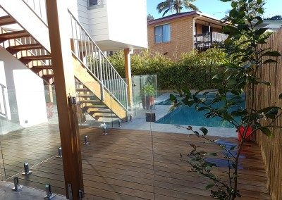 Frameless Glass Pool Fencing In Lennox Head