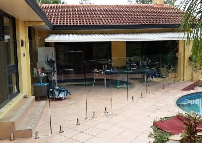All Custom Cut Glass Pool Fencing 1350 High, 1500 High, 1800 High Glass